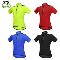 Men Short Sleeve Cycling Jersey Breathable Quick Dry Bike Wear Top Shirts Gifts