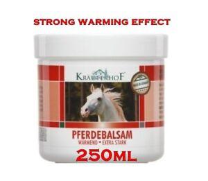 ASAM  Krauterhof ® Pferdebalsam Gel Balm Strong Warming Effect 250ml