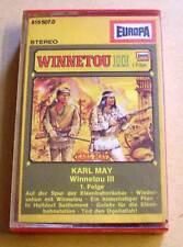 Karl May Hörspielkassette MC Western Indianer - Winnetou III 3 - 1. Folge