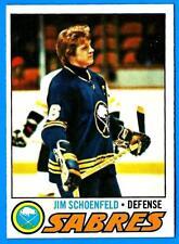 1977-78 Topps JIM SCHOENFELD (ex-) Buffalo Sabres