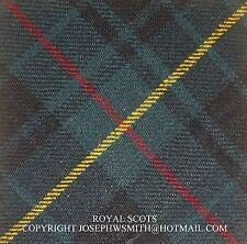WW2 British Army Royal Scots tartan arm sleeve tartan patch Hunting Stewart