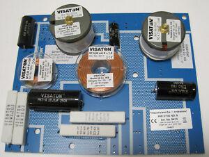3-Wege Weiche Frequenzweiche Lautsprecher Hifi 8Ohm VISATON HW 3/130 NG