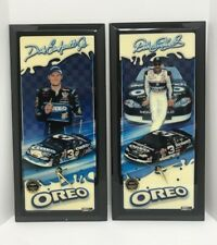 NASCAR Jebco Wall Clock ~ Dale Earnhardt Jr & Sr ~ Oreo ~ Matching Numbers!