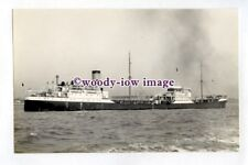 pf3879 - Anglo Saxon Oil Tanker - Bullmouth , built 1927 sunk 1942 - photograph
