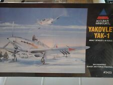 YAKOLEV YAK1 FIGHTER 1/48 SCALE ACCURATE MINIATURES MODEL