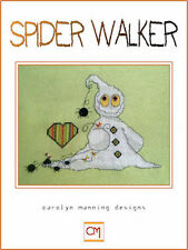 10% Off The CM Designs counted X-stitch Chart - Spider Walker