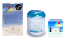 Set of 3 Cerulean Sky Fragrance Collection 1 Sachet 1 Jar & 1 Votive Candle
