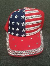 Red White and Blue US Flag Cap