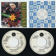 """Madonna - Causing A Commotion c/w Jimmy, Jimmy 7"""" JAPAN WHITE LABEL PROMO 45"""