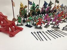 NEW TOYS 120 PCS SOLDIER DRAGON FIGURINES MEDIEVAL TIMES SET KNIGHT FANTASY KIDS