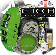 E TECH UK Green Bremssattel Lack- und Cleaner Spray Kit. Vert peinture étrier
