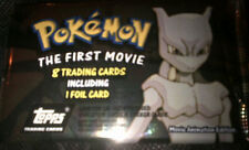 Pokemon Topps The First Movie Booster Pack 7 Trading Cards Plus 1 Foil