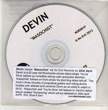 (CU729) Devin, Masochist - 2012 DJ CD