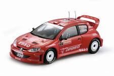 SUN STAR 1:18 PEUGEOT 206 WRC H. SOLBERG MENKERUD WALES RALLY GB 2004  ART 3862