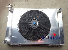 Aluminum Radiator + Shroud +Thermo fan for HOLDEN VG VL VN VP VR VS V8 Manual