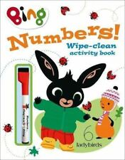 Numbers!: Wipe-clean activity book (Bing) by