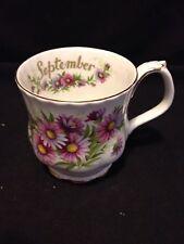 Royal Albert Flower of the Month September Tea Cup only Michaelmas Daisy England