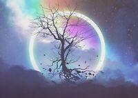 A1 | Fantasy Eclipse Tree Poster Art Print 60 x 90cm 180gsm Gamer Gift #14024