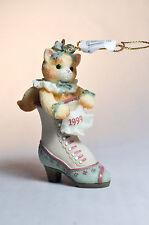 Calico Kittens: Kitten In Shoe - 543489 - Hanging Ornament
