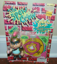 The Spew Crew Action Figure Toy Captain Burp Soldier Wow Wee Inc W/ CD 901 * NEW