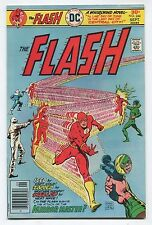 The Flash Vol.27 #244 (8.0) Capt. Cold, Weather Wizard, Heat Wave Cover 1976