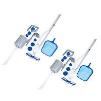 Bestway Above Ground Pool Cleaning Vacuum & Maintenance Accessories Kit (2 Pack)