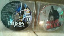 LOT OF 2 PC CRIME-GENRE GAMES-MOB RULE & PRISON TYCOON