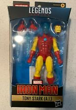 Marvel Legends Tony Stark AI Iron Man Figure (No Mr Hyde BAF)