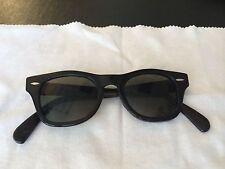 Vintage Original RARE!! Bausch & Lomb Ray Ban Wayfarer  Black 50's Sunglasses