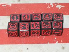 A Touch of Evil: Dark Gothic. Omen dice x10 Red