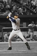 Derek Jeter 30x20 pollici Canvas-MLB poster foto incorniciata