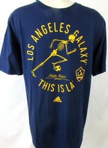 Los Angeles Galaxy Youth XL (18) Adidas Short Sleeve Screened Team Tee LAG 8