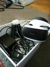 sony playstation 4 vr bundle headset camera and 2 controllers ps4