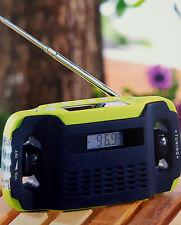 Solar Batteriefreies Radio ,Outdoor,Urlaub,Camping,Koffer-Radio,