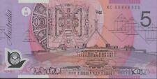 $5 2005 Last Prefix KC05 Macfarlane/Henry Unc KC Australia Five Polymer Banknote