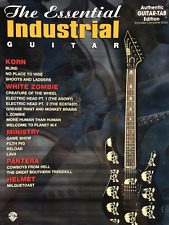 Industrial Guitar Tab & notes SHEET MUSIC BOOK Korn Zombie Blanc Casque Ministry