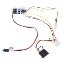 DC 12V 160W 24-Pin ATX Switch PSU Car Auto Mini ITX Power Supply Module Cable