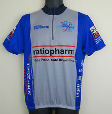 Vtg Cycling Tex Retro Wendelstein Rundfahrt Jersey Vintage Top Shirt Trikot L