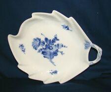 Royal Copenhagen Blue Flowers #8002 Leaf Relish Dish Tray