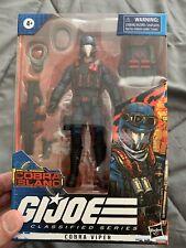 GI Joe Classified Series Cobra Island Cobra Viper