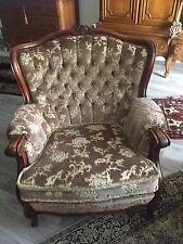 Antikel 3sitzer, Ohrensessel und Sessel, in alt rosa, gepflegeter Zustand...