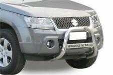 SUZUKI GRAND VITARA 2005 BULL BAR MIRROR INOX 60 LUCIDO C/SCRITTA  mod.05/07