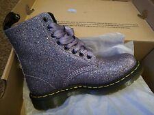 Genuine Dr Martens 1460 Pascal Glitter Multi Violet Womens Boots UK 5 EU 38
