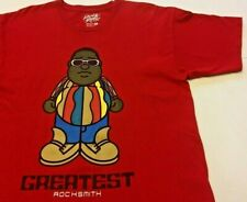 Notorious Biggie Smalls ROCKSMITH  T-Shirt RED ~ LARGE