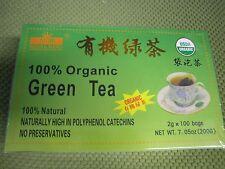 FRESH ! NEW 100 Bags Royal King 100% Natural Organic Green Tea USDA CERTIFIED