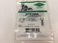 6 Nte Nte289a Silicon Npn Transistor Audio Power Amplifier Lot Of 6