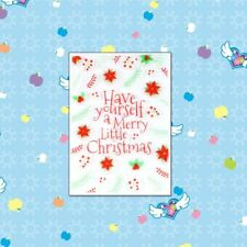 Merry Christmas Silicone Clear Stamps Scrapbooking Embossing DIY Cards Decor