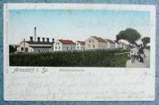 ARNSDORF i. Sa.- Glashüttenwerke Georg Hirsch - Glashütte Fabrik - Bahnpost 1905