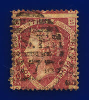 1874 SG52 1½d Lake-Red Plate 3 G6(2) SA Misperf London Good Used Cat £75 cvqc