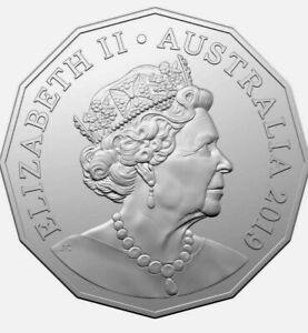 2019  50c COINS JODY CLARK AND IAN RANK-BROADLEY EFFIGIES  RARE